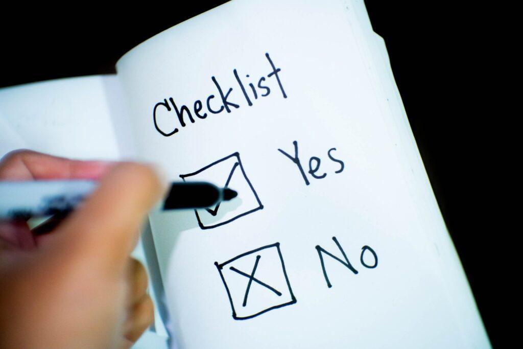 Consider an estate planning checklist