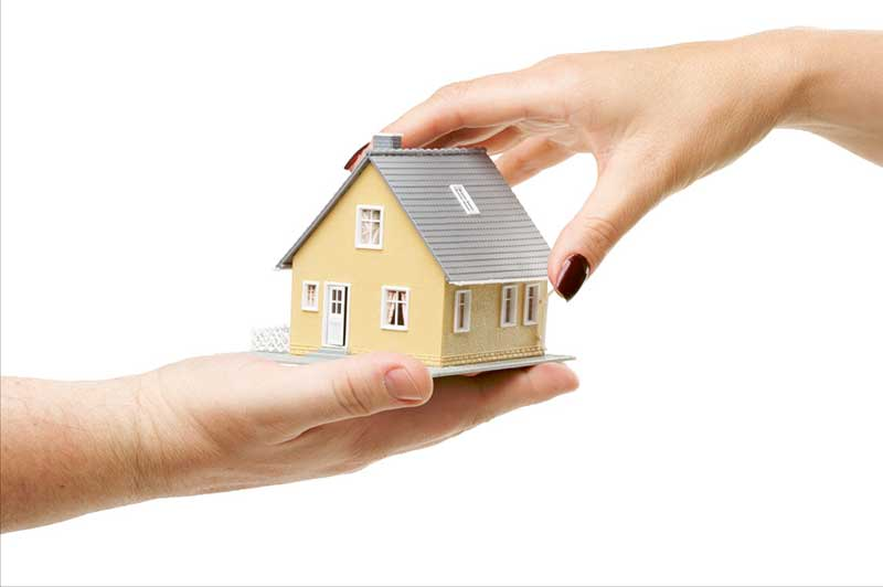take care when transferring house to children